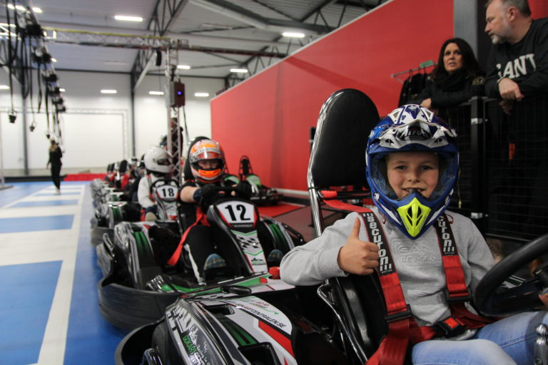Make the party an unforgettable memory for all the children, drive gokarts!
